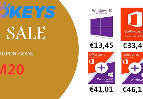 WHOkeys Autumn SALE Windows 10 PRO OEM KEY