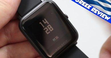 Παρουσίαση του Xiaomi Amazfit Huami Bip Lite Greek Review