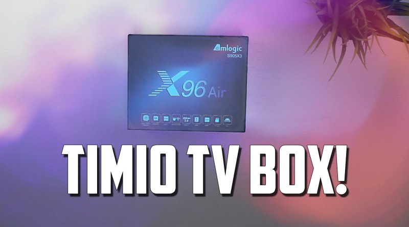 X96 Air Android 9 TV Box