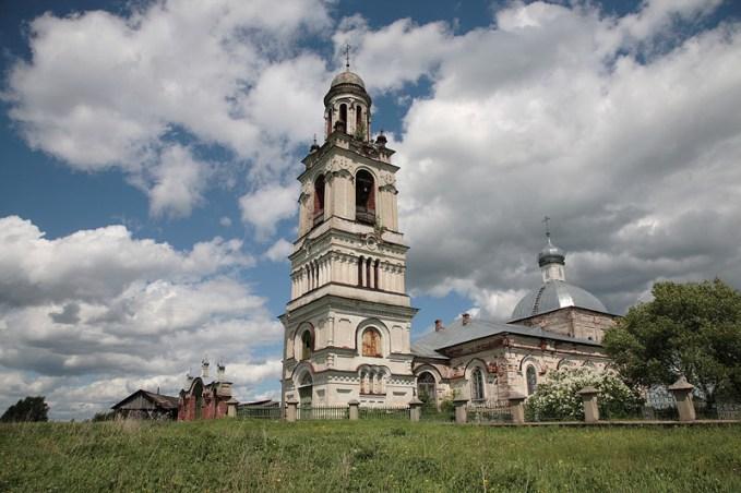 Церковь пророка Илии в с. Ильинское Переславского района
