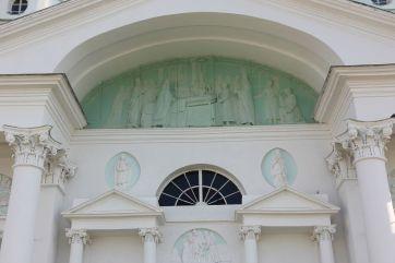 Фрагмент северного фасада храма