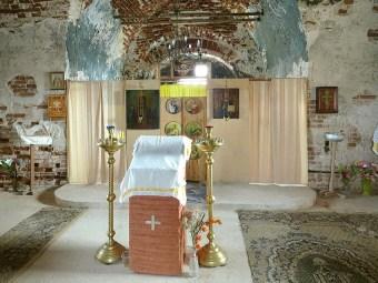 Интерьер Димитриевской церкви