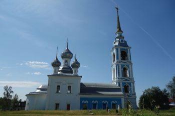 Церковь Рождества Богородицы с. Вощажникова