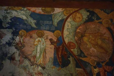 Композиция «Преображение Господне». Роспись Зачатьевского собора Спасо-Яковлевского монастыря