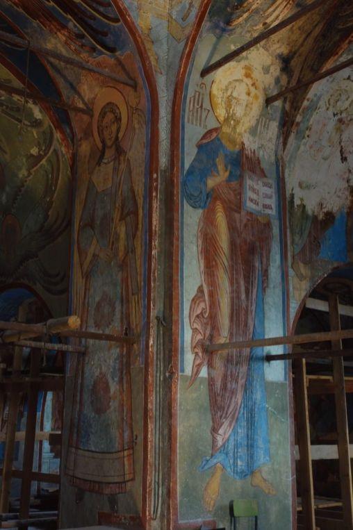 Роспись Зачатьевского собора Спасо-Яковлевского монастыря
