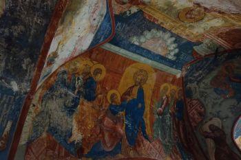 Композиция «Уверение Фомы». Роспись Зачатьевского собора Спасо-Яковлевского монастыря