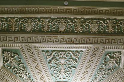 Потолок Лепного зала Фонтанного дома