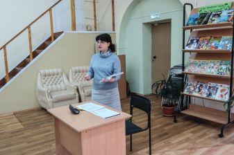 На встрече, посвященной княгине Н. Б. Долгоруковой, в Центральной межпоселенческой библиотеке г. Ростова