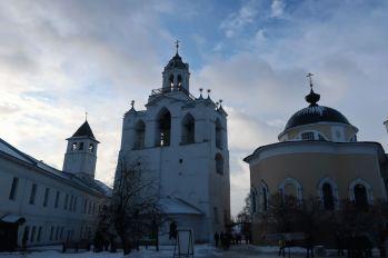 Семинарский корпус, звонница и храм Ярославских чудотворцев