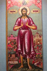 Святой Алексий, человек Божий, с житием в 4 клеймах. Начало XVIII в.