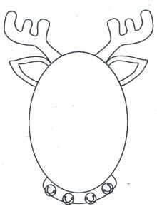 reindeer-mask-template