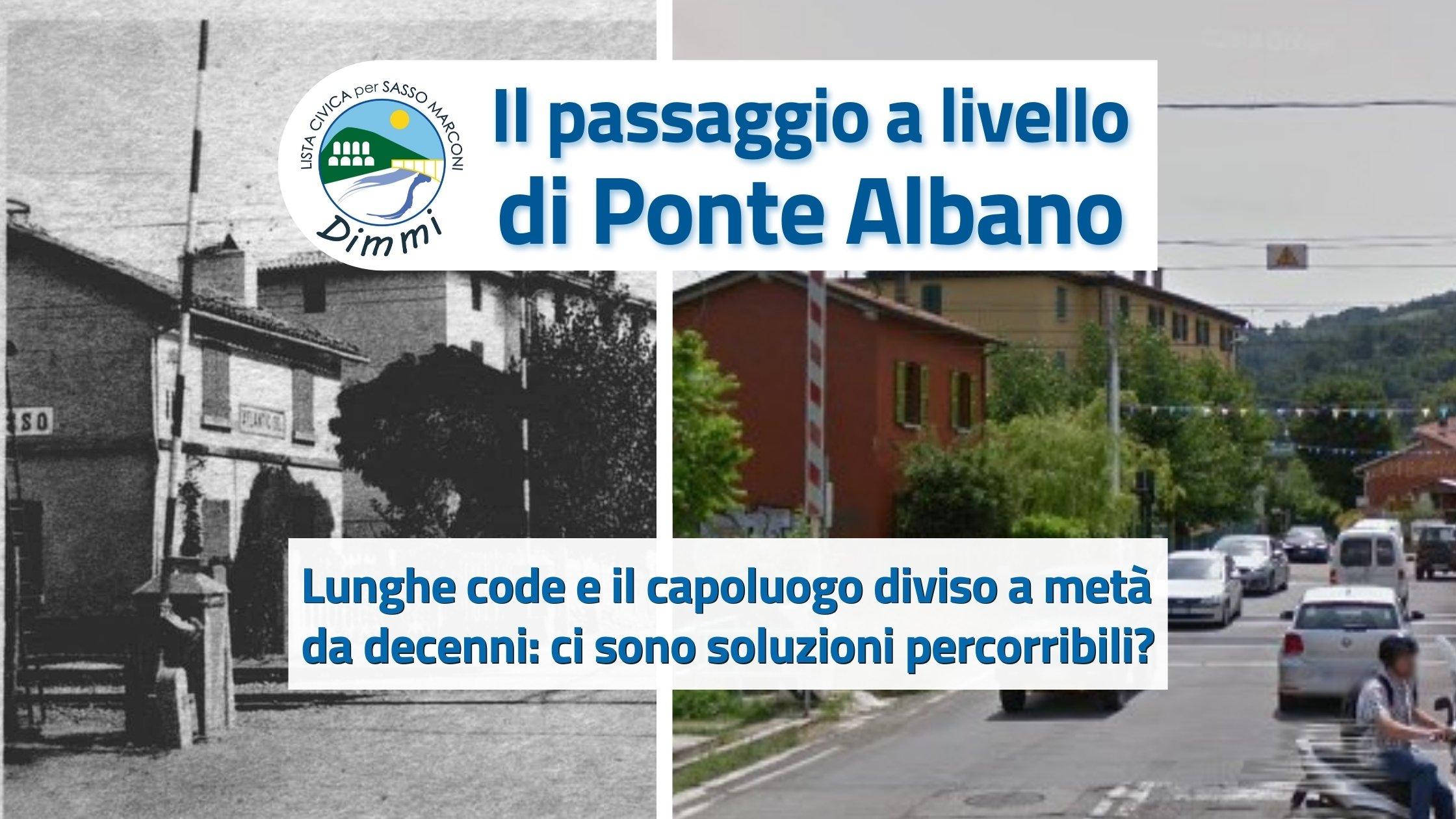 You are currently viewing Il passaggio a livello di Ponte Albano: ci sono alternative per la viabilità?
