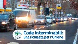 Traffico a Sasso - Unione Reno Lavino Samoggia