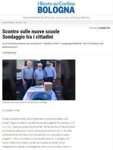 Dimmi Sasso Marconi Sondaggio Viabilità
