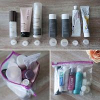 Fit an entire beauty routine into one tsa approved bag