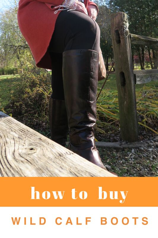 How to increase your odds of finding wide calf boots that actually fit. / dimplesonmywhat.com