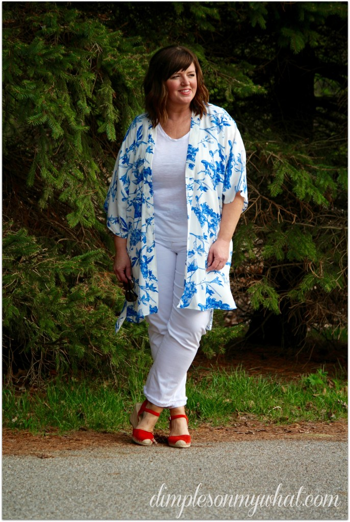 Kimono / Over 50 Fashion / Easy Summer Style