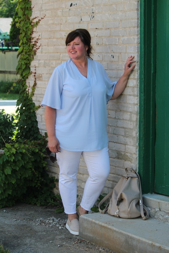 Curvy Casual Fashion / Fashion Over 50 / Plus Size Fashion