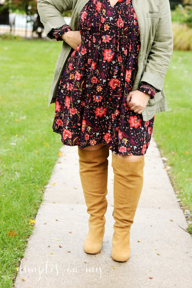 Wide Calf Over the Knee Boots | Plus Size Style | Fashion over 50