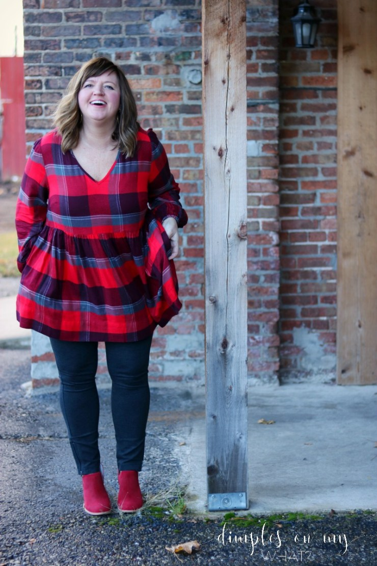 Plus Size Fashion | Fashion for Women Over 50 | Casual Holiday Style