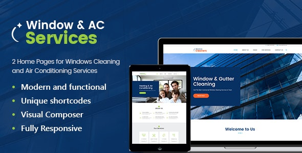 JUAL AC Services - Air Conditioning and Heating Company WordPress Theme
