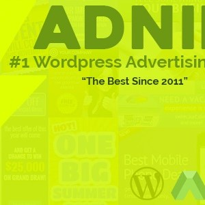JUAL Adning Advertising - All In One Ad Manager for Wordpress