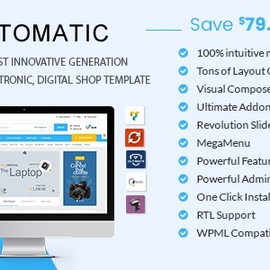 JUAL Automatic - WooCommerce Theme for Electronic