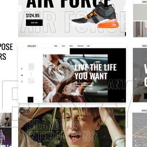 JUAL Chelsey - Portfolio Theme for Freelancers and Agencies