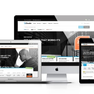 JUAL Clouder - WHMCS Template
