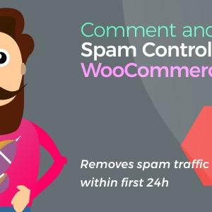 JUAL Comment and Review Spam Control for WooCommerce