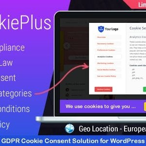 JUAL Cookie Plus - GDPR Cookie Consent Solution for WordPress