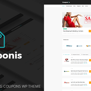JUAL Couponis - Affiliate & Submitting Coupons WordPress Theme