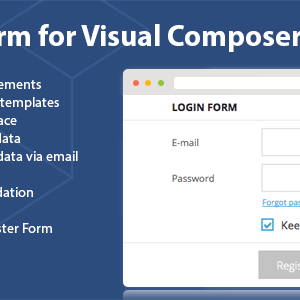 JUAL DHVC Form - Wordpress Form for WPBakery Page Builder