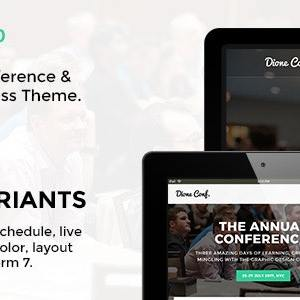 JUAL Dione - Conference & Event WordPress Theme