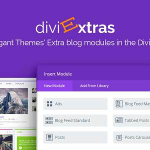 JUAL Divi Extras - Extra Theme Blog Modules Added To Divi Builder