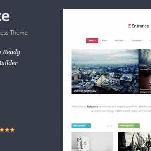 JUAL Entrance - WordPress Theme for Magazine and Review