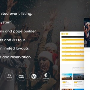 JUAL Event Champ - Multiple Events & Conference WordPress Theme