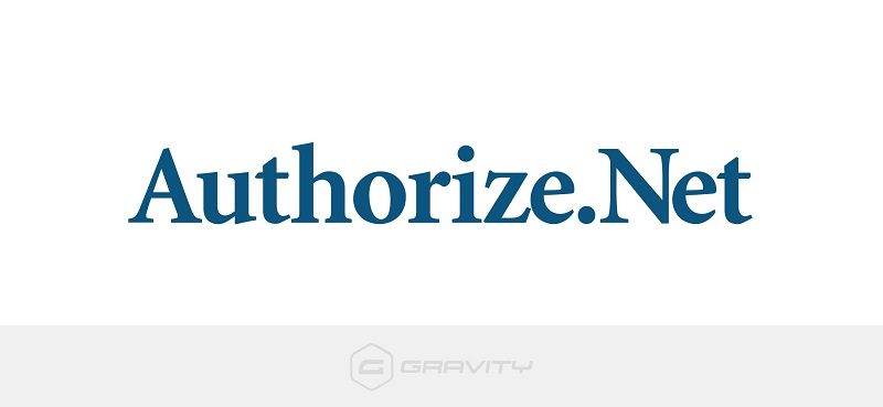 JUAL Gravity Forms Authorize.Net Add-On