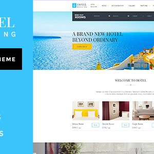 JUAL Hotel Booking - Wordpress Theme for Hotels