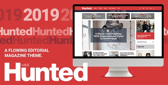 JUAL Hunted - A Flowing Editorial Magazine Theme