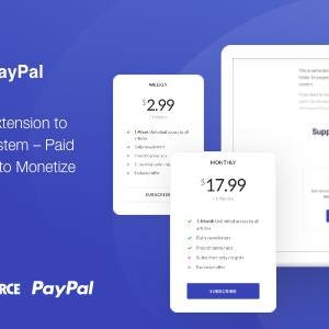 JUAL Jeg Paywall & Content Subscriptions System with Paypal for WooCommerce