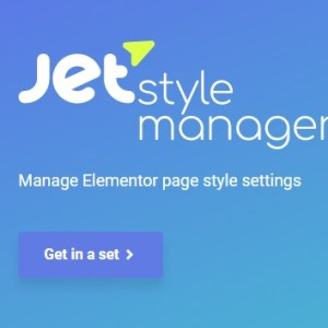 JUAL JetStyleManager - Style manager for Crocoblock plugins