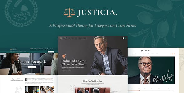 JUAL Justicia - Lawyer and Law Firm Theme