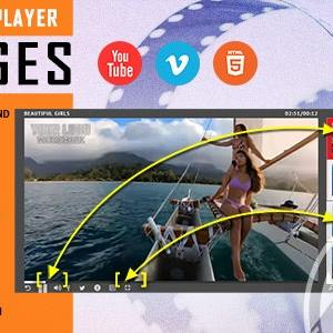 JUAL RANGES - Video Player With Multiple Start and End Points - WordPress Plugin