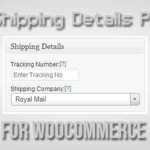 JUAL Shipping Details Plugin for WooCommerce
