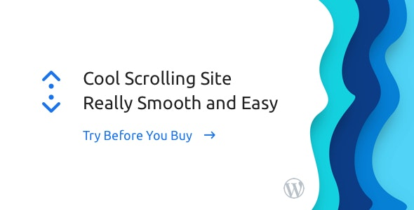 JUAL Smooth Scroll for WordPress - Site Scrolling without Jerky and Clunky Effects.