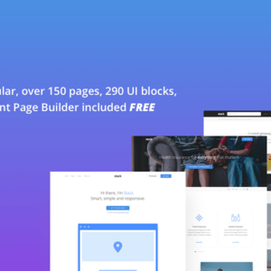 JUAL Stack - Multi Purpose HTML with Page Builder