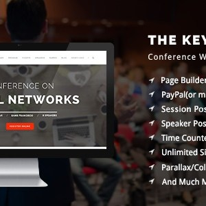 JUAL The Keynote - Conference / Event / Meeting WordPress Theme