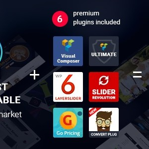 JUAL The7 - Multi-Purpose Website Building Toolkits for WordPress Themes