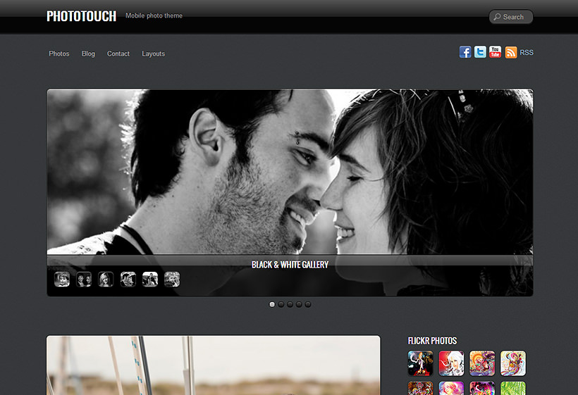 JUAL Themify PhotoTouch WordPress Theme
